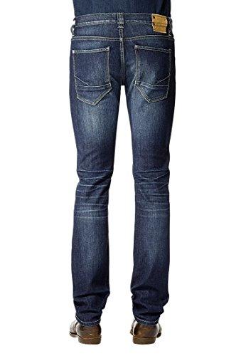 Colorado Jeans Hose Luke, 06942-1628-225, dark blue used Dark Blue Used