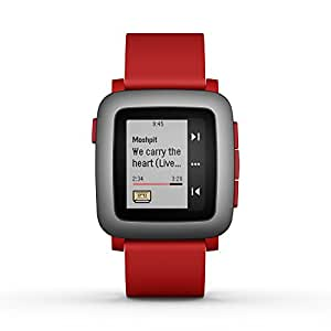 Pebble Time Smartwatch, Rosso