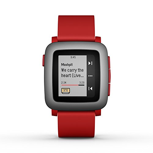pebble-time-smartwatch-for-smartphone-red
