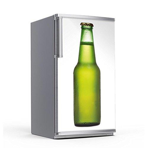 creatisto Kühlschrank 60x120 cm Kühlschranktattoo Küche | Dekor Kühlschrank Klebefolie Sticker Aufkleber abwaschbar Kühlschrank renovieren | Design Motiv Cold Bottle