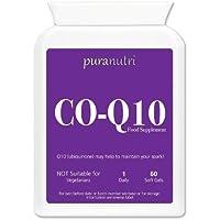 Puranutri coenzima Q10 ( CoQ10) 300mg 60 gel morbido per l'ipertensione o pressione alta .