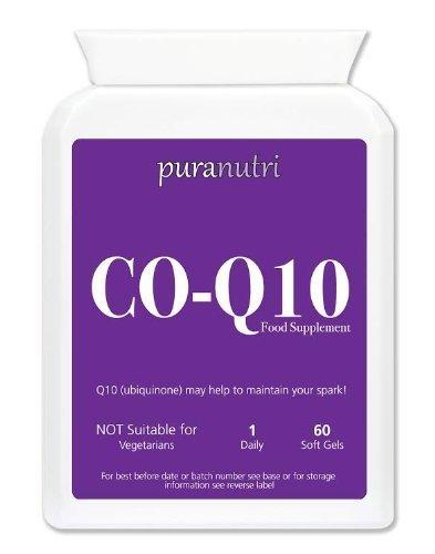 Puranutri Co-Enzyme Q10 (COQ10) 300mg 60 soft gels (Enzym-gel)