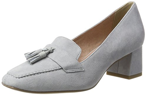 Tamaris Damen 24404 Pumps, Grau (Steel 211), 39 EU
