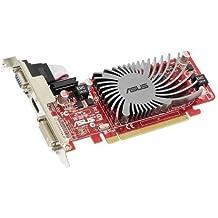 ASUS ATI Radeon EAH5450 SILENT/DI/512MD2(LP) Grafikkarte (PCI-e, 512MB GDDR2 Speicher, 1x DVI, 1x HDMI, 1x D-Sub, Low Profile, Passiv)