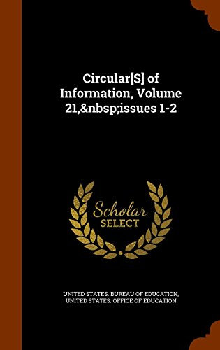 Circular[S] of Information, Volume 21,issues 1-2