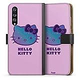 DeinDesign Huawei P20 Pro Tasche Leder Flip Case Hülle Hello Kitty Merchandise Fanartikel Universe