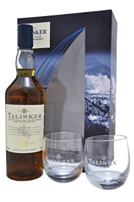 Talisker 10 Year Old / 2 Glass Pack