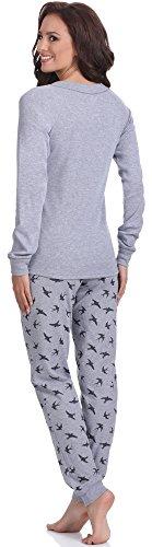 Italian Fashion IF Pyjama Femme Cleo 0223 Melange