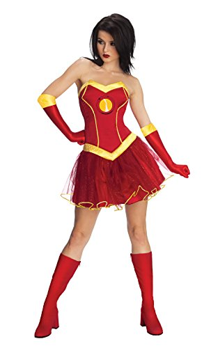 Rubie 's Offizielles Damen Marvel Miss Iron Man -