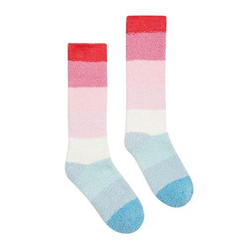 Joules Women's Fabulously Fluffy Slipper Socks, 100 Den