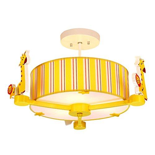 Cartoon niedlichen tier kinder runde pendelleuchte, E14 * 3,220 V, kreative mädchen und jungen schlafzimmer kronleuchter/kinderzimmer lichter (3-tier-kristall-kronleuchter)
