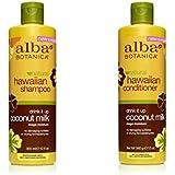 Alba Botanica Shampoo 12 oz and Conditioner 12 oz (Coconut Milk)
