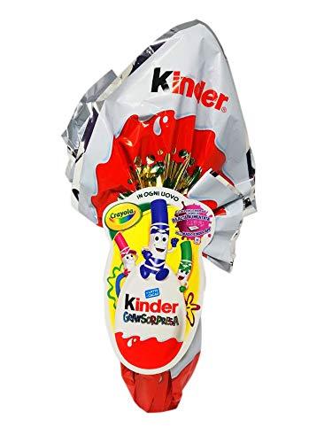 Uovo di cioccolato Kinder Gran Sorpresa Crayola con fantastica sorpresa 150 gr