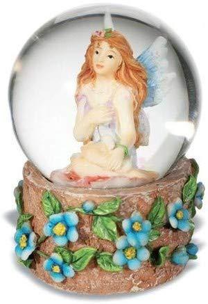 AVENUELAFAYETTE Boule de Neige fée et Fleurs Violettes