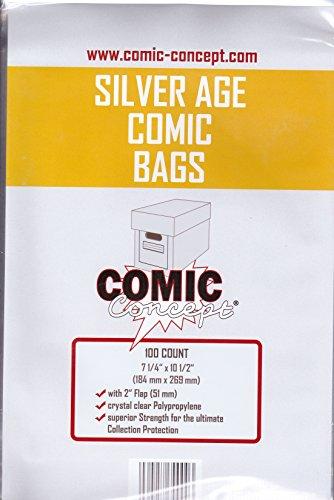 comic-concept-silver-age-bags-x-100