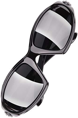 Verdster Airdam - Occhiali da sole POLARIZZATI da Uomo - Ideali per Guidare, Pescare, Andare in Bici - Montatura Confortevole Avvolgente con Protetezione UV - Custodia & Astuccio Inclus