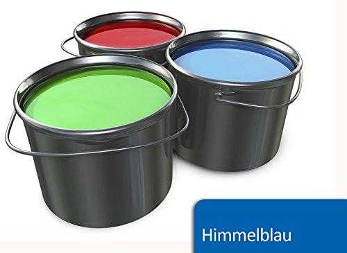 farbe garagenboden BEKATEQ BE-700 5L Betonfarbe Bodenfarbe Bodenbeschichtung Betonbeschichtung Garagenboden Garagenbeschichtung (Himmelblau)