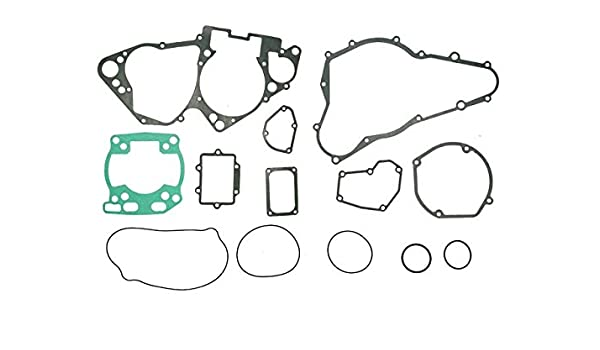 outlaw racing or3757 complete full engine gasket set suzuki rm250