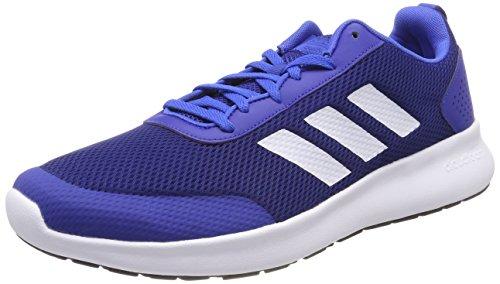 Bianco Multicolore Blu Uomo Da Collegiale Concorrenza Corsa Elemento reale Adidas Cf Corsa Scarpe Ftwr wq7xO8T