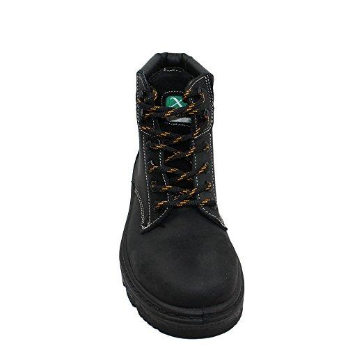 Chaussures de sécurité s3 hRO abrium boreal berufsschuhe businessschuhe chaussures de trekking (noir) Noir - Noir