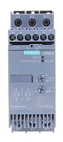 Siemens SIRIUS 3RW3026-1BB04 Sanftstarter S0 25A, 11kW/400V, AC200-480V, AC/DC24V Schraubklemmen -