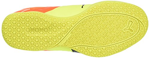 Puma Gavetto Sala, Chaussures de football mixte adulte Jaune - Gelb (safety yellow-puma Black-SHOCKING Orange 14)