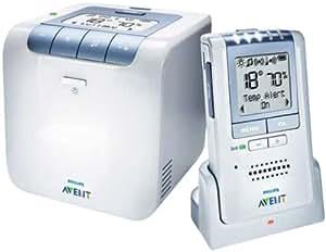 Philips SCD535/00 Avent ECO DECT Babyphone (Temperaturüberwachung, Schlaflieder) weiß