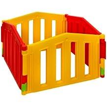 Parque infantil / bebé Parque 4 piezas de extensión de XXL by LCP Kids ® / barrera de seguridad / Sistema de calidad - EN 71