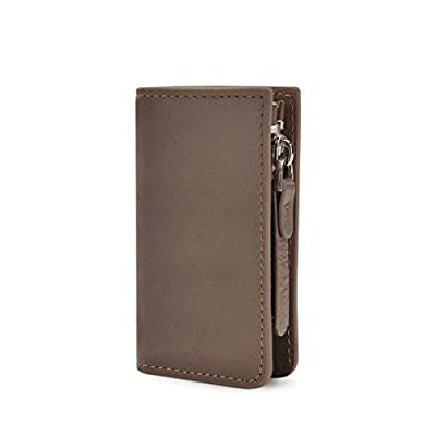 ZLR Porte-clés en cuir Porte-clés en cuir Keychain universel