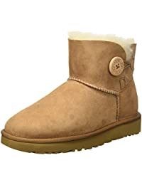 UGG Mini Bailey Button II 1016422 - Botas Cortas Para Mujer