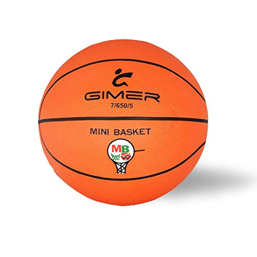 Balón de Baloncesto y Mini Basket Ball Official Size & Weight Naranja naranja Talla:5