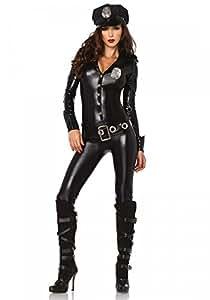 shoperama Officer Payne Damen-Kostüm von Leg Avenue Cop Polizistin Police Officer Sexy, Größe:S