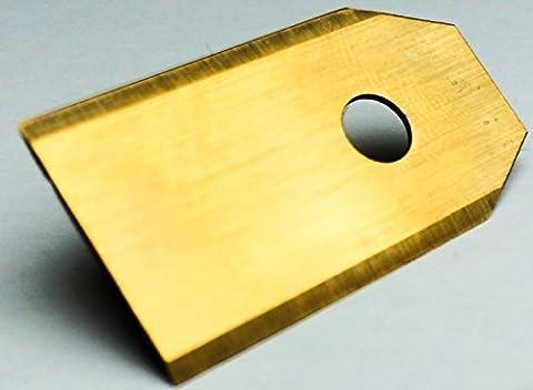 !Titan! 90 Genisys® Messer (Ti3=0,75mm) und Schrauben für Husqvarna Automower®, Gardena R40Li / R70Li