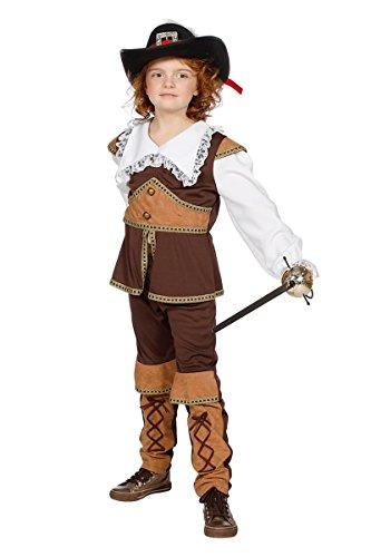 Wilbers Musketier Kostüm Musketiere Set Rennaissance Frankreich Karneval -