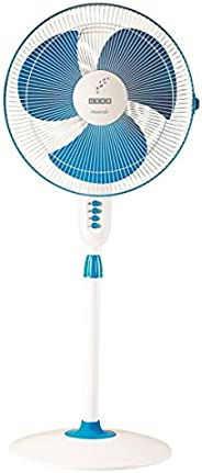 Usha Maxx Air Pedestal Fan (New Blue)