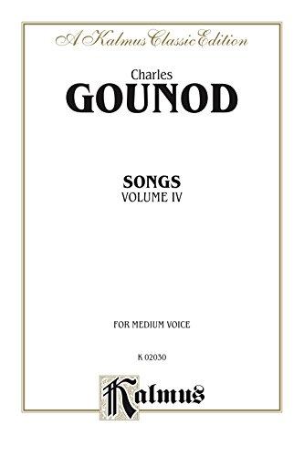 Songs, Volume IV: For Medium Voice