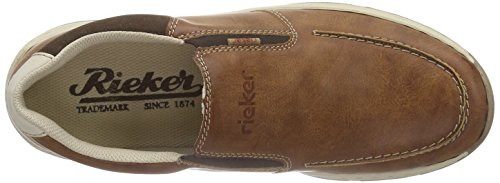 Rieker 15260 Loafers & Mocassins-Men, Mocassins homme Marron (peanut/cigar/chalk / 24)