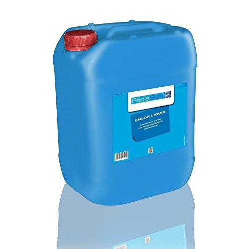 25 Kg - PoolsBest® Chlor-Flüssig (Flüssigchlorbleichlauge)