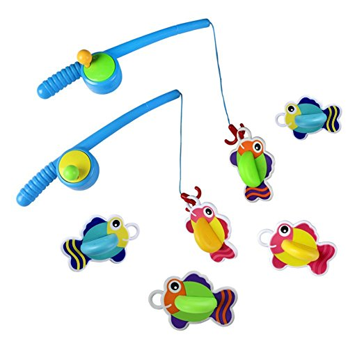 Juguetes de baño flotante con Juegos de pesca para los niños (set of 2)