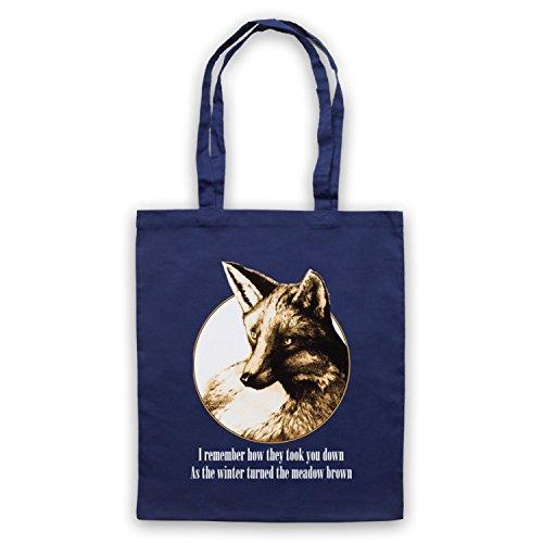 Inspiriert durch Fleet Foxes Mykonos Inoffiziell Umhangetaschen Ultramarinblau