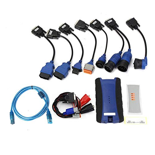 Comomingo NEXIQ Diagnose-Tool Auto Heavy Duty Truck Scanner-Werkzeug NEXIQ USB Link (blau) Pro 96-scanner