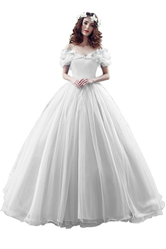Promgirl House Damen 2016 Maerchenhaft Prinzessin A-Linie Ball Brautkleider Hochzeits Abendkleider...