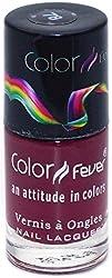 Color Fever Absolute Matt Nail Lacquer, Matt Burgundy, 8.5g