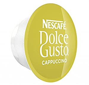 Get 50- 100 x Dolce Gusto Cappuccino Coffee or Milk Pods ONLY (Cappucccino Milks, 50) from Nestle