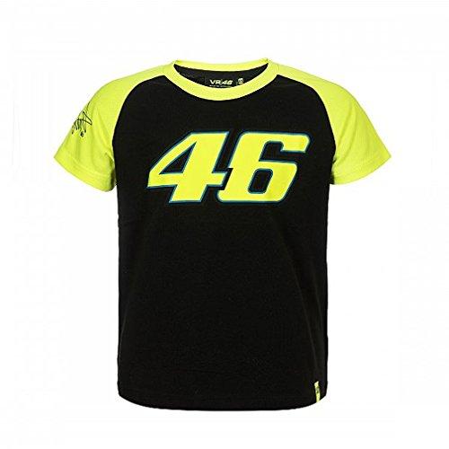 Valentino Rossi VR46 Moto GP Race The Doctor Niños Camiseta Oficial 2018