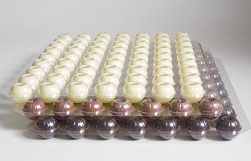 Schokoladen Trüffel Hohlkugeln - Praline Hohlkörper gemischt - 3 Set 189 Stück