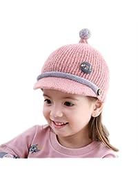 5b277c993b845 REIA Gorra de béisbol de Punto Sombrero cálido de Invierno para bebés