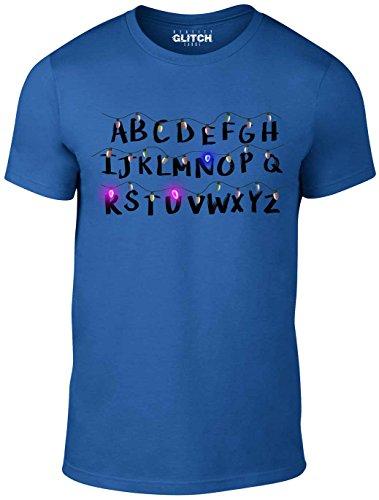 Reality Glitch Herren Run T-Shirt Königsblau