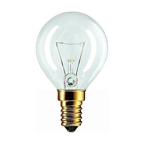 Philips - Bombilla forno 40 W lampadina SES E14 Tapón de tornillo pequeño 762 cm ° fornello Se adapta...