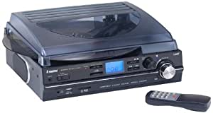 Steepletone ST929R Stand Alone Stereo Music Player and MP3 Recorder - Black